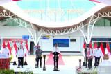 Presiden Jokowi resmikan terminal  penumpang di Bandara Mopah Merauke