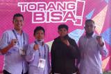 PON Papua - Delva Riski, taekwondoin asal Sumbar berhasil pertahankan emas