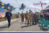Bupati Pesisir Barat tinjau pembangunan jalan di Kecamatan Lemong