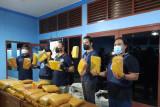 BNN Jambi gagalkan pengiriman 45 kg ganja dari Aceh di Terminal Bus Muara Bungo