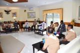 Kadispotmaral kunjungi Lantamal VIII Manado