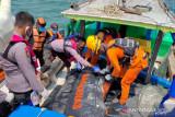 Tim evakuasi jenazah nelayan asal Sungsang korban tabrakan kapal di Selat Bangka