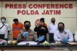 Kurir sabu-sabu jaringan Jakarta-Surabaya diringkus jajaran Polda Jatim