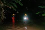 Empat orang dilaporkan hilang setelah banjir dan tanah longsor melanda Luwu