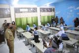Wali Kota Makassar pantau simulasi PTM di sejumlah sekolah