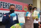 Polisi amankan dua ASN Lapas Palu karena miliki narkoba 3,9 kilogram