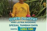 PLN Luncurkan Promo Super Dasyat Tambah Daya Hanya Rp202.100
