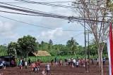 Jokowi tanam jagung bersama petani di Kabupaten Sorong