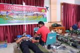 HUT ke-76 TNI Korem 143/HO himpun 153 kantong darah