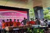 Polri ungkap jaringan peredaran narkoba lintas provinsi Jawa-Sumatera