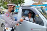 Polresta Mataram mencatat banyak pengendara abaikan prokes COVID-19