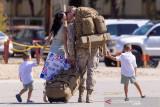 Marinir AS yang tugas di Bandara Kabul pulang