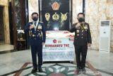 Kejutan untuk Panglima TNI dari Kapolri pada HUT Ke-76 TNI