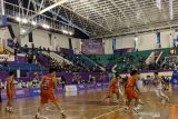 Dua laga penentu semifinal bola basket PON Papua digelar Rabu