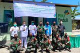 PLN NTT bantu bedah rumah prajurit TNI di Sikka