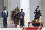 Presiden pimpin upacara peringatan HUT ke-76 TNI