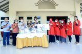 Istri pekerja Pertamina Cilacap salurkan paket sembako untuk umat Hindu