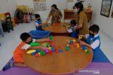 Gelar PTM, siswa Sekolah Tunarungu Sushrusa Denpasar
