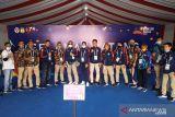 PON PAPUA - Mereka mendarat di Kabupaten Jayapura untuk bela Sumbar