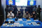 Sabu-sabu senilai Rp70 juta hasil selundupan berhasil di gagalkan TNI AL