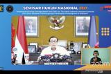 Menkumham harap INA jadi strategi menurunkan rasio utang terhadap PDB Indonesia