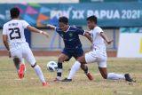 Rekam jejak sepak bola putra Kaltim dan Jatim di PON Papua