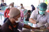 PT Timah menggencarkan vaksinasi COVID-19 di pulau terpencil Babel