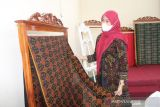 Dekranasda Bangka Tengah dorong warga kembangkan produk kain tenun cual