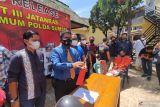 Polisi lumpuhkan buronan pembacok lansia secara sadis di Palembang