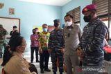 Danlantamal III tinjau vaksinasi pelajar di Belitung