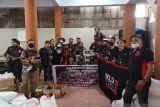 26 Komunitas Bold Riders Anggota Tagana KITA Manado Bantu Korban Banjir Mitra