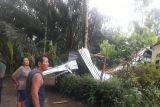Puting beliung rusak 34 rumah warga desa di Serdang Bedagai