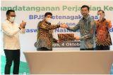 BPJAMSOSTEK-Hiswana Migas sepakat wujudkan perlindungan Program Jamsostek