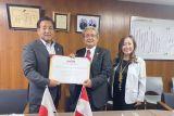 KBRI Tokyo teken komitmen hibah 11 unit kendaraan dari Toyota untuk Sulsel