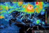 Dua siklon tropis di belahan bumi utara  berdampak ke Indonesia