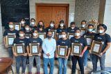 Wali kota beri penghargaan kepada 15 personel Jatanras Polrestabes Makassar