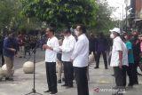 Presiden Joko Widodo resmikan program bantuan tunai untuk PKL