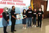 Pasar Modal Indonesia dorong vaksinasi COVID-19 ke  masyarakat