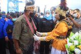 Kafilah STQN Papua Barat tiba pertama kali d Maluku Utara