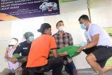 Tim penolong pertama pendakian Gunung Dempo latihan kedaruratan medis