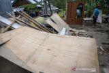 Rumah Rusak Diterjang Banjir Bandang di Sigi