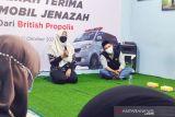 Dompet Dhuafa Jawa Barat terima satu unit mobil jenazah dari British Propolis