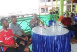 Kapolda lakukan tatap muka dengan tim sepak bola putra PON Papua