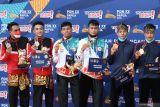 PON XX Papua - Medali emas ganda putra menjadi milik pesilat tuan rumah