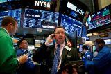 Wall Street ditutup menguat, indeks Dow melonjak lebih 500 poin