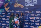Tuan rumah Papua raih emas selam laut 6.000 meter finswimming putri