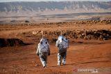 Sejumlah ilmuwan simulasikan kehidupan di Mars di Kawah Ramon Israel