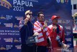 Sempat alami kram, Alexander berhasil sabet emas selam laut untuk DKI Jakarta