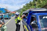 Satlantas Polres Sangihe imbau pengguna jalan patuhi Prokes