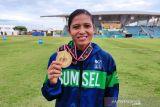 PON Papua - Pelari Sumsel Sri Mayasari raih emas 400 meter dan pecahkan rekornas